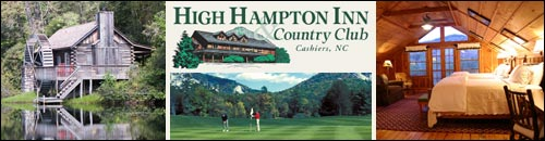 High Hampton Inn, Cashiers, NC