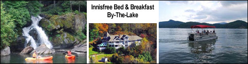 Innisfree Bed and Breakfast By-The-Lake, Glenville, NC