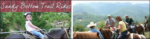 Sandy Bottom Trail Rides, Marshall, NC