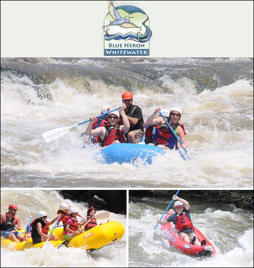 Blue Heron Whitewater Rafting