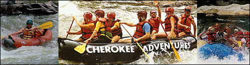Cherokee Adventures Whitewater Rafting