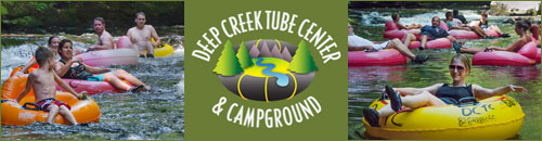 Deep Creek Tube Center and Campground, Bryson City, NC