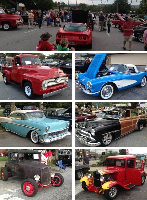 Hendersonville Antique Car Club Show