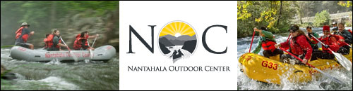 Nantahala Outdoor Center NOC Whitewater Rafting, WNC