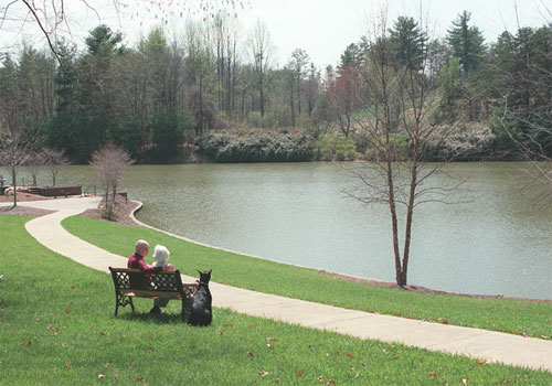 Picture Of Lake Point Landing Retirement Community, Hendersonville NC