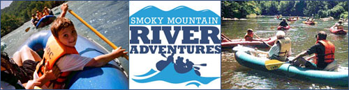 Smoky Mountain River Adventures aka Rafting With My Kids