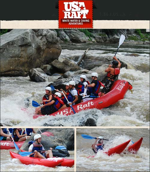 USA Raft Whitewater Rafting and Adventure Centers