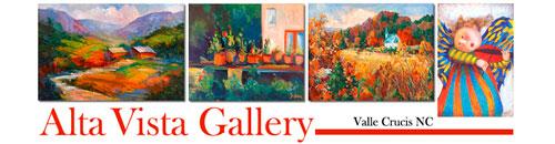 Alta Vista Art Gallery, Valle Crucis, NC