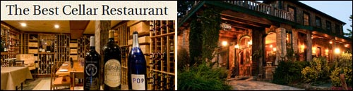 Best Cellar Restaurant at the Inn at Ragged Gardens, Blowing Rock, NC