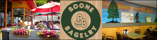 Boone Bagelry, Boone, NC