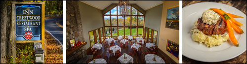 Crestwood Restaurant and Spa, Boone, NC