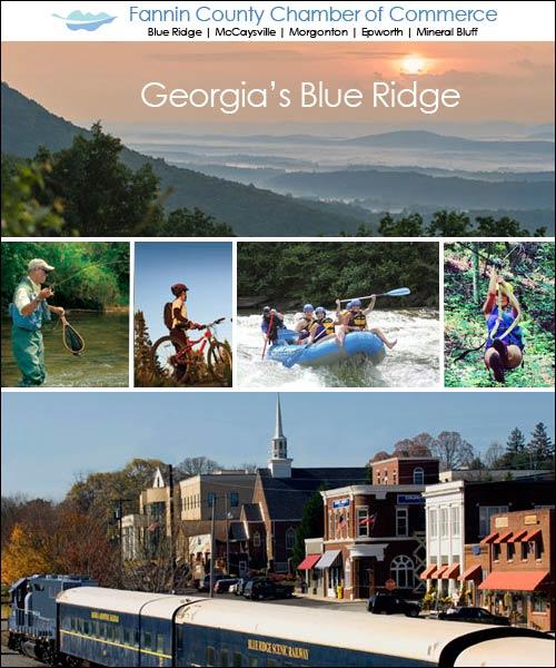 Visitors Guide to Georgia's Blue Ridge Mountains