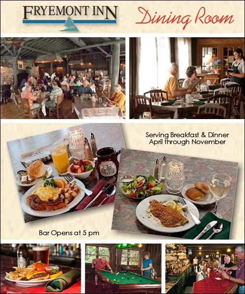 FryemontInn Restaurant and Bar, Bryson City, NC