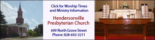 Hendersonville Presbyterian Church, Hendersonville, NC