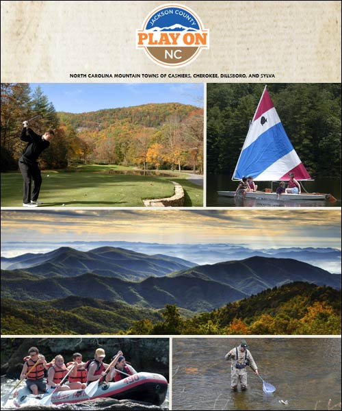 Jackson County Tourism - Cashiers, Cherokee, Dillsboro, and Sylva - North Carolina Mountains