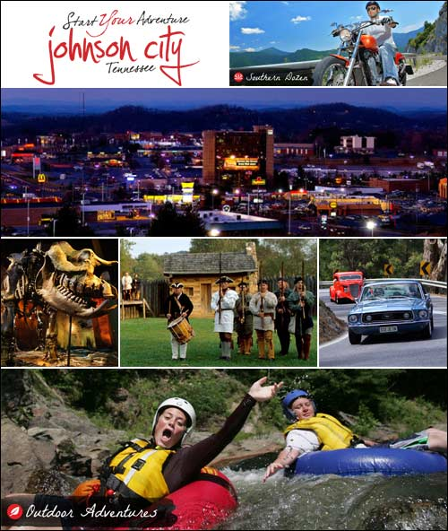 Johnson CIty, Tennessee, Visitors Information