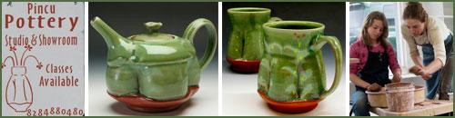 Pincu Pottery, Bryson City, North Carolina