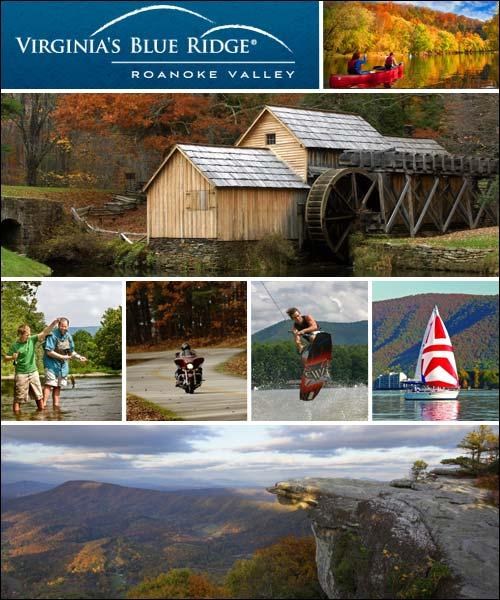 Roanoke Virginia Blue Ridge Travel Information