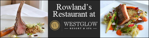 Rowland's Restaurant at Westglow Resort and Spa, Blowing Rock, NC