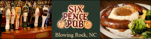 Six Pence Pub, Blowing Rock, NC