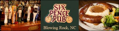 Six Pence Pub, Blowing Rock, NC