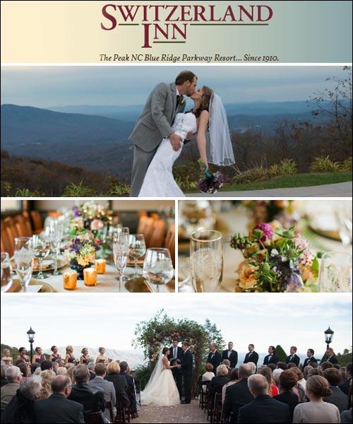 Switzerland Inn and Chalet Wedding Services, Spruce Pine, NC