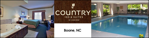 Country Inn and Suites, Boone, NC