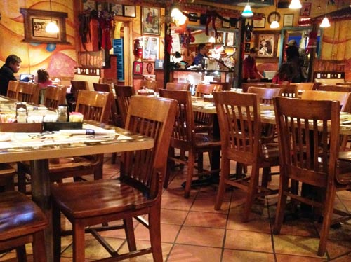 Photo Inside The El Paso Mexican Restaurant In Hendersonville Nc