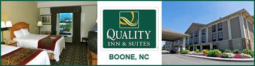 Quality Inn and Suites, Boone, NC