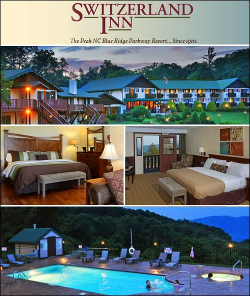 Switzerland Inn Hotel, Spruce Pine, NC