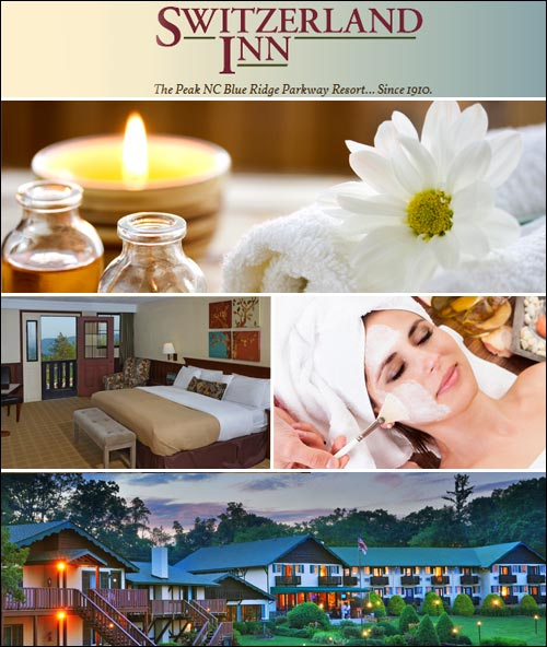 Switzerland Inn and Chalet Day Spa, Spruce Pine, NC