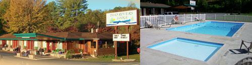Two Rivers Lodge, Cherokee, NC