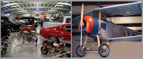 Bennett Classic Car Museum and the WNC Air Museum