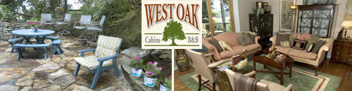 West Oak Bed and Breakfast, Bryson City, NC