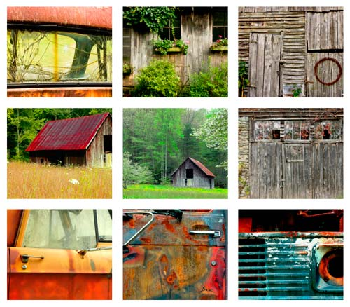 Click here to view the gallery of Carolina Barns, Cabins and Trucks by Sue Hershey