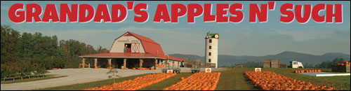Grandad's Apple Orchard, Hendersonville, NC
