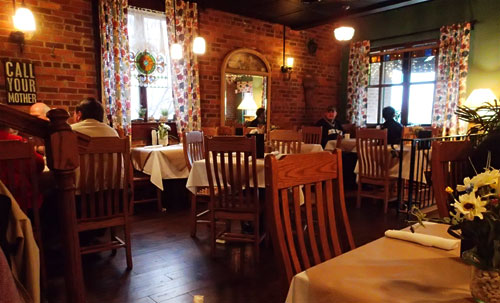 Mother Butter's Dining Room