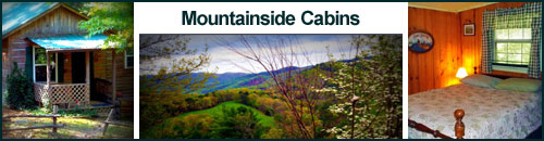 Mountainside Cabins, Hot Springs, NC