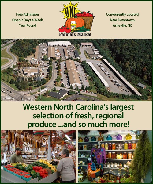 WNC Farmers Market, Asheville, NC