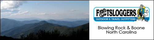 Footsloggers Outdoor Gear, Boone and Blowing Rock, NC
