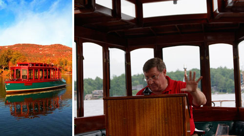 Champagne Cruise on the Miss Lucy at the Greystone Inn, Lake Toxaway, NC