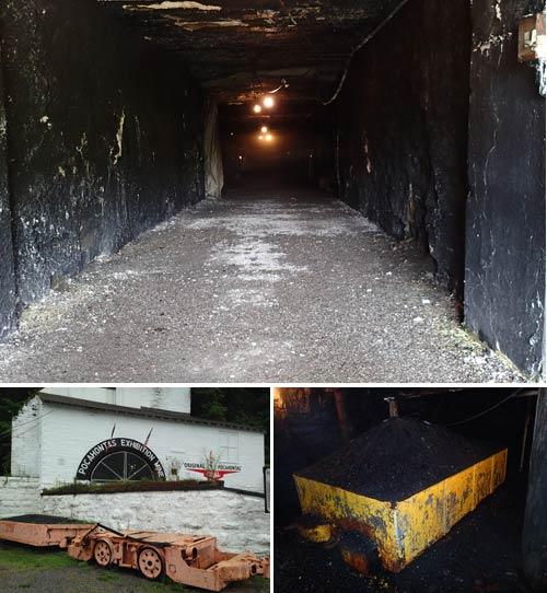 Photos Inside the Pocahontas Exhibition Coal Mine