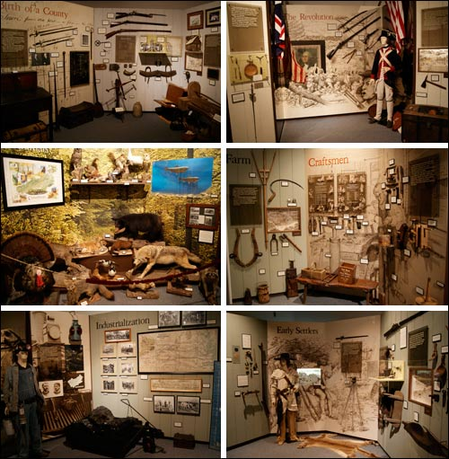 Pictures Inside Crab Orchard Museum