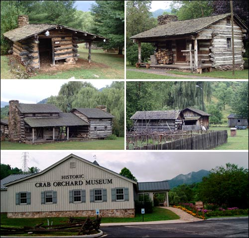 Pictures Outside Crab Orchard Museum