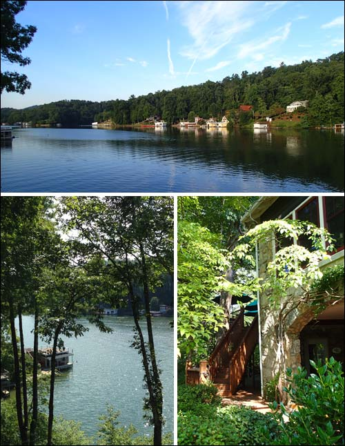 Beautiful views at the Lodge on Lake Lure