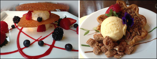 Special Desserts at Old Edwards Inn and Spa