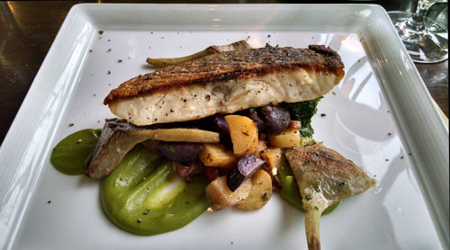 Striped Bass at Old Edwards Inn and Spa