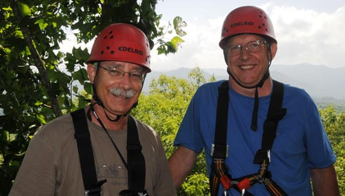 All Smiles at French Broad Rafting & Ziplines