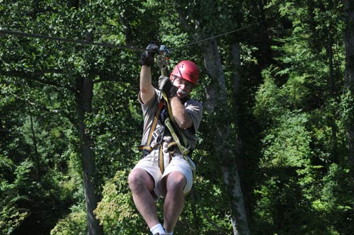 Click to visit French Broad Rafting and Ziplines website.