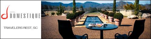 Hotel Domestique, Traveler's Rest, SC